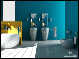 bath room design by AbdAlsalam