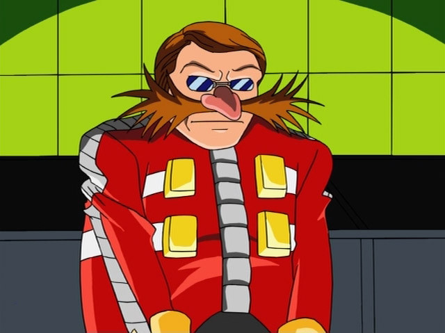 Eggman Without Glasses And Moustache