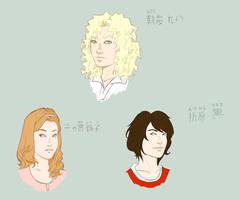 Oniisama e: Junior high sketch by arisugawajuri