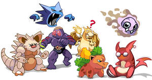 Pokemon Fusion by jEROMEaNIMATIONS