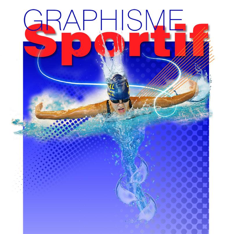 Graphisme Sportif Natation by Dom-Graphcom