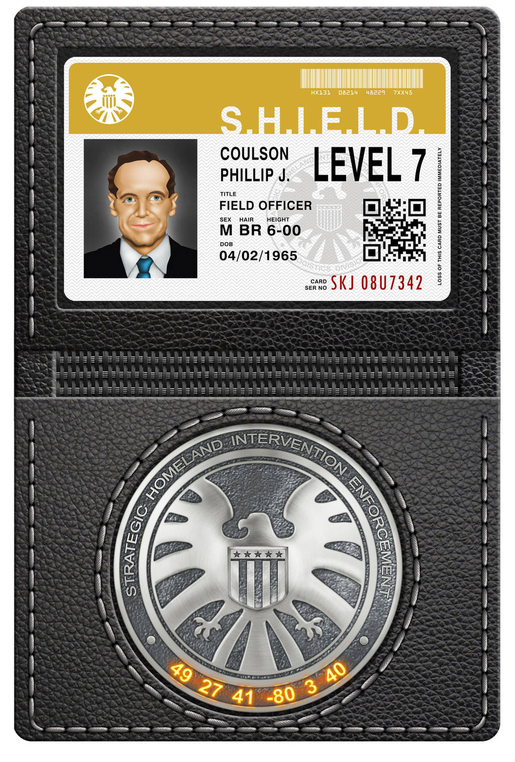 Marvel-Agents-of-SHIELD-Phil-Coulson-ID--badge-by by Dom-Graphcom