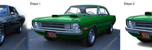 Dodge-Dart-1972-evolution by Dom-Graphcom