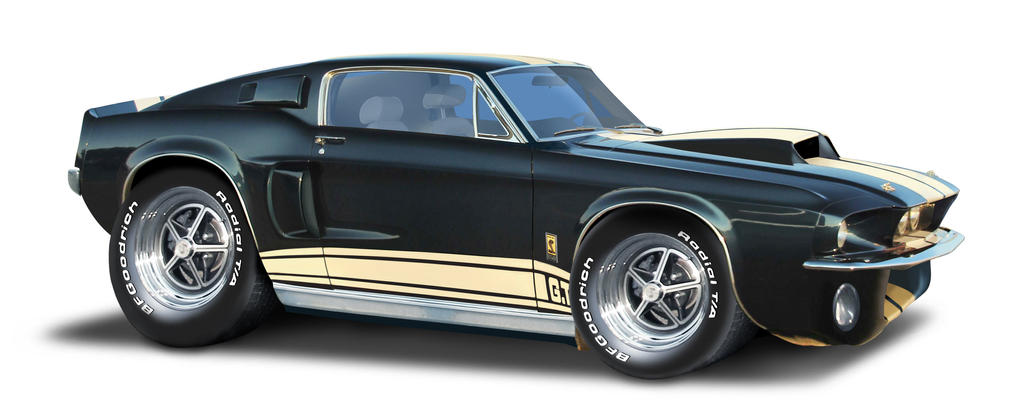 mustang-GT500 by Dom-Graphcom