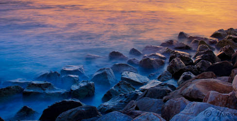 Day 083 Project 366 - As the wave kissed the rocks by Hanooali