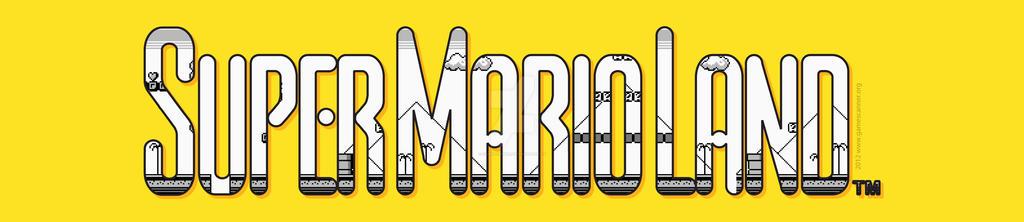 Super Mario Land vector logo by GameScanner