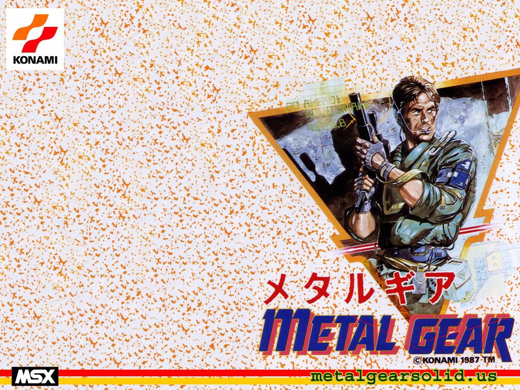Metal Gear Famicom Wallpaper