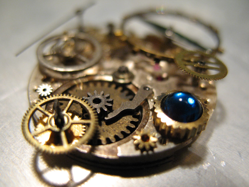 Insides for a pocket watch 2