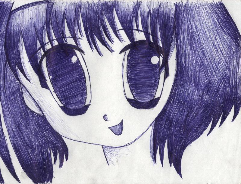 Anime Girl -3- by bec66ky