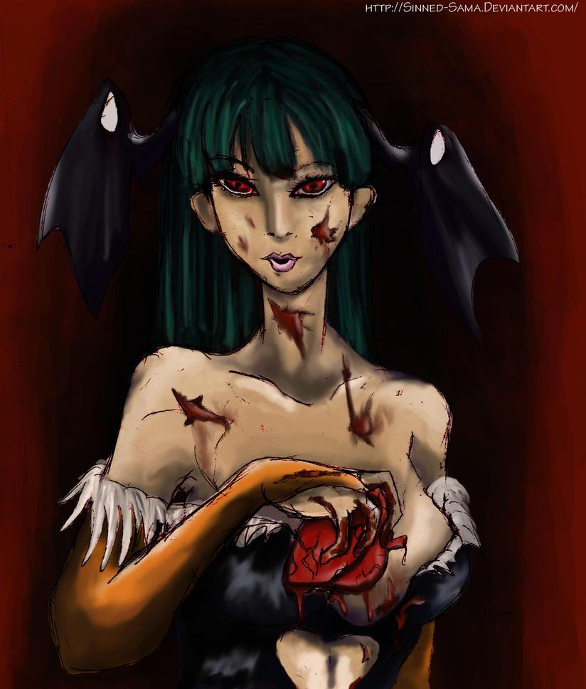 Sadistic Morrigan by Sinned-Sama