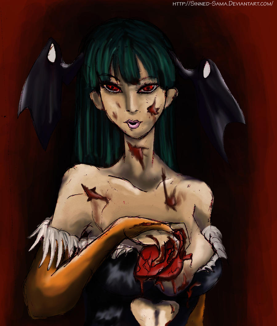 Sadistic Morrigan by Sinned-Sama