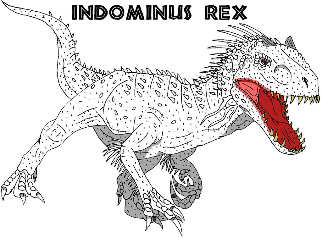 Indominus Rex By TheOneTrueSirCharles On DeviantArt