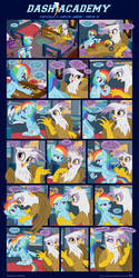 [Italian] Dash Academy 7 - Free Fall - Part 13 by FiMvisible