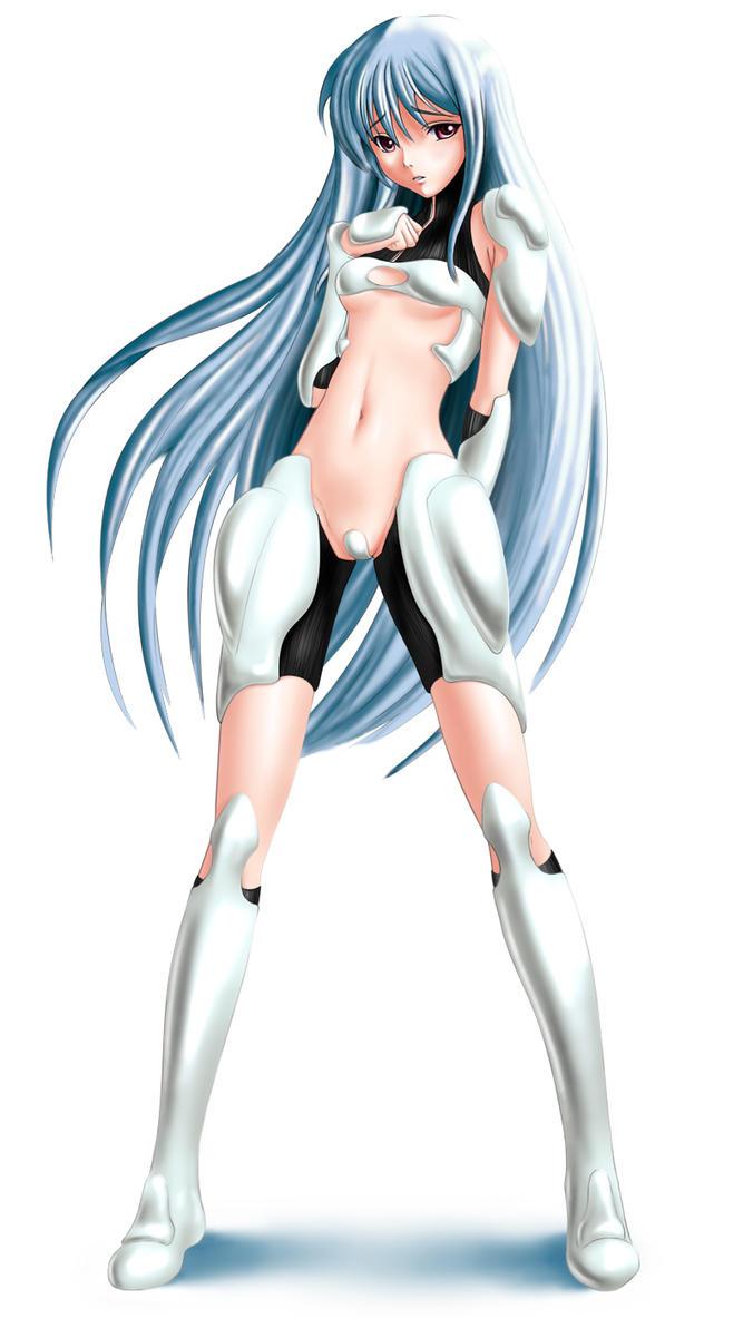 Manga Girl 04 by EvilFlesh on DeviantArt - Hairstyles For Flat Hair