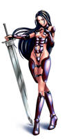 Cyber Ninja by EvilFlesh