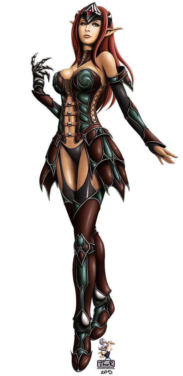 Fantasy Girl 05 c by EvilFlesh