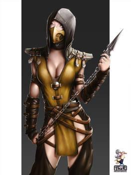 Scorpion - Genderswapped - again
