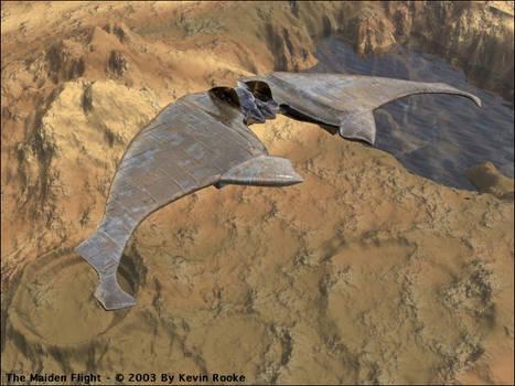 The maiden flight