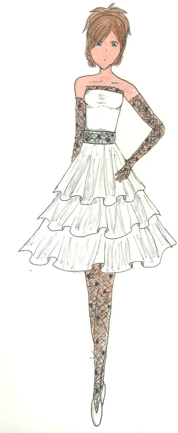 Party wedding dress by KikNessa