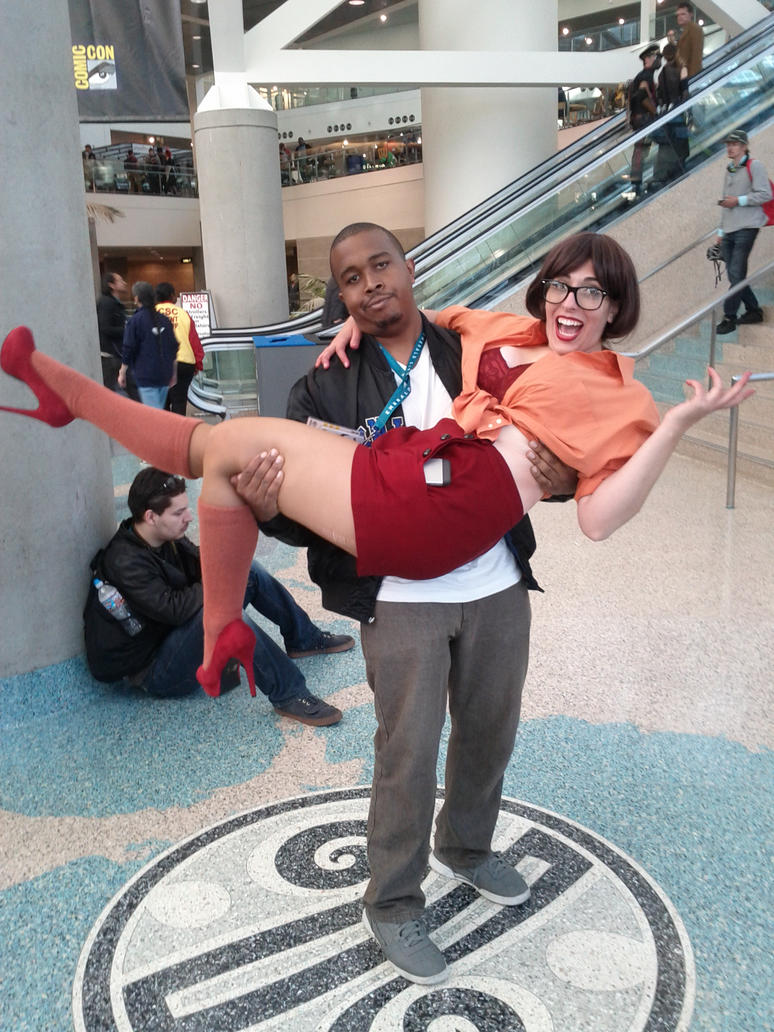 Me with Sexy Velma by coreybrown1994