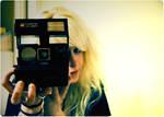 in polaroids.