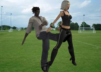 Groin Kick by Ranock