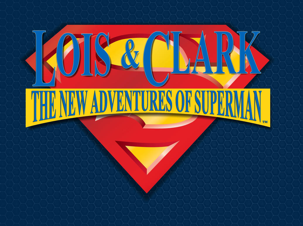 My Lois And Clark New Adventures Of Superman Logo by ...