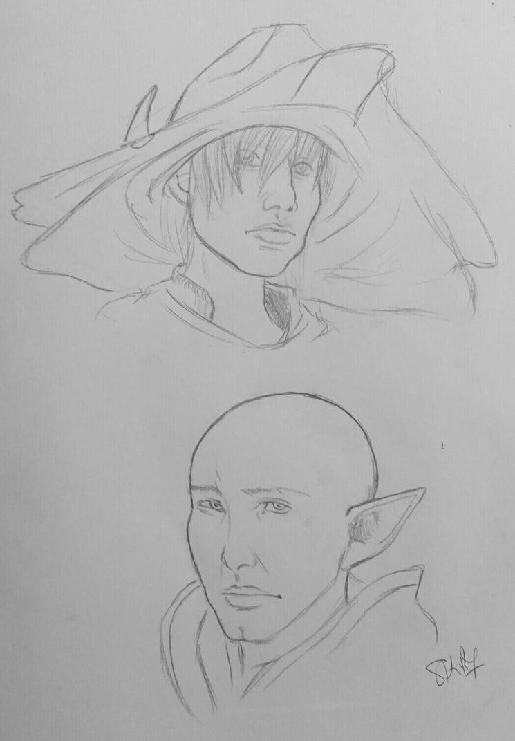 DA: Inquisition Headshots 3 by PocketshNa