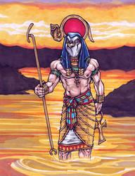 The Sun God, The Fun God by dixey