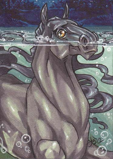 Cryptids - Kelpie by dixey