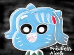 Frulein Nicole Kreide (Miss Nicole chalkboard)