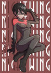 Nightwing Girl colours