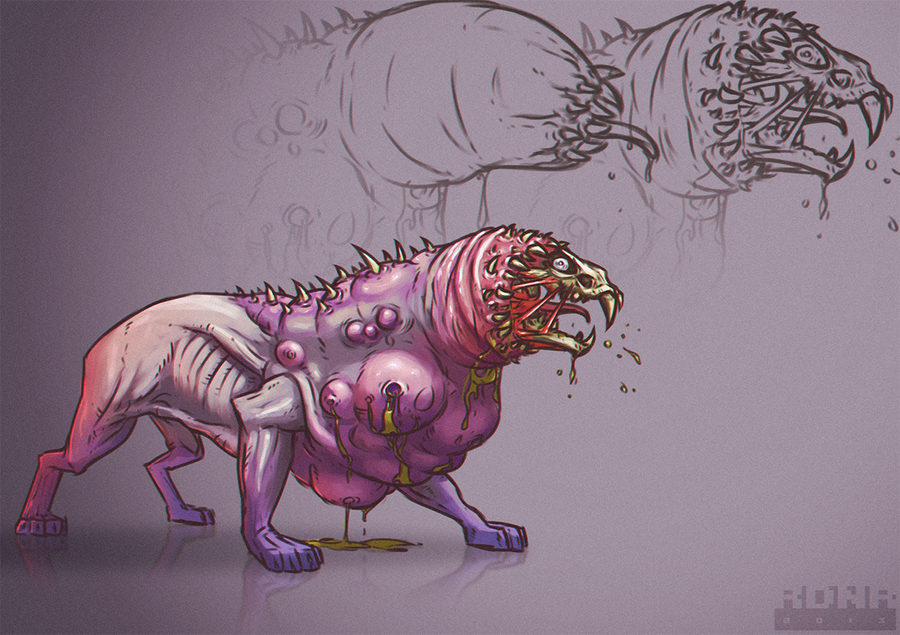 tunnel tiger by Rodendron