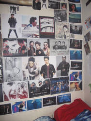 Half my wall of Jared pictures by EchelonMars14