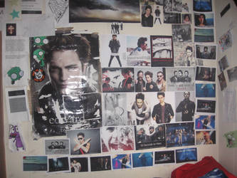 My whole wall by EchelonMars14