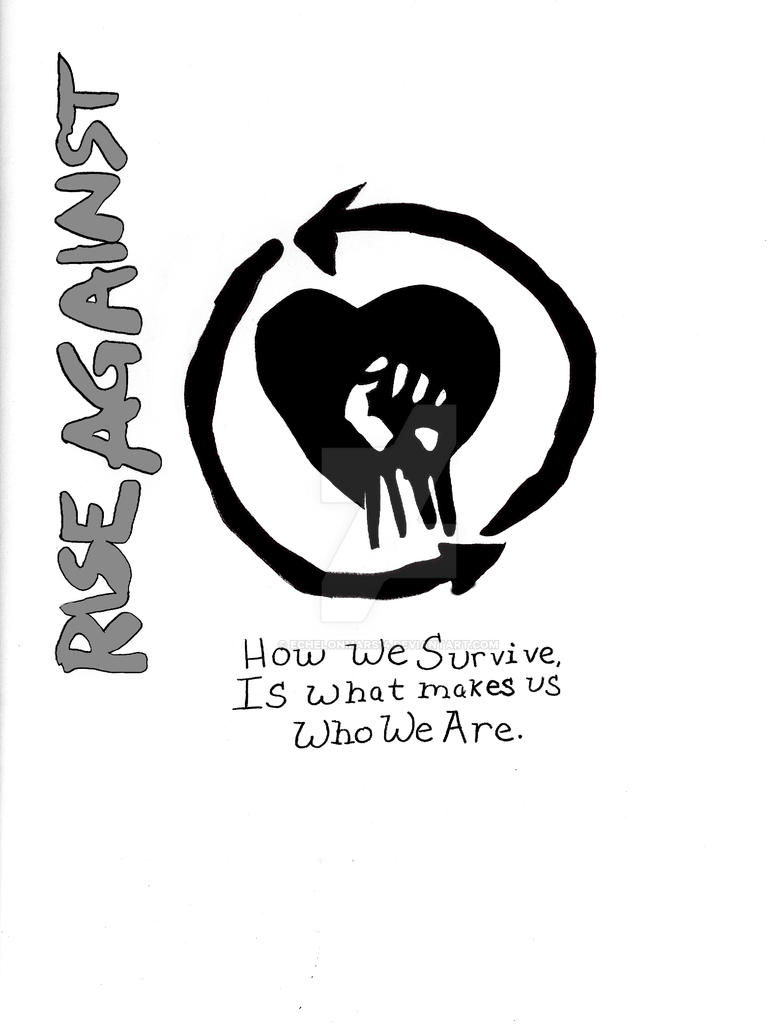 Rise Against After Coloring by EchelonMars14