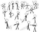 Draw Traning Weapon