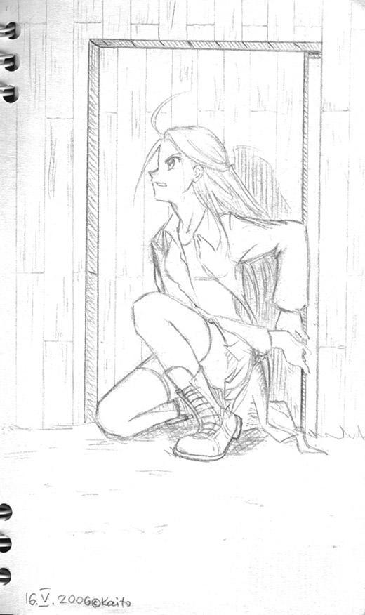 Lurking by Kaito-neechan