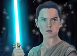 Rey Awakens - Star Wars: The Force Awakens