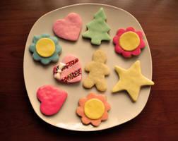 Fondant Cookies by GeorgieM-onster