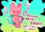 Fairuza 2 weeks myo event! Closed