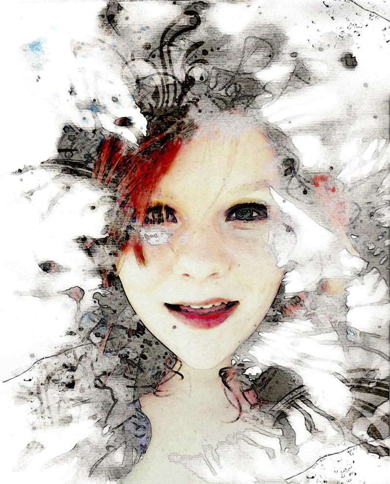 Happy Splatter by angelmarlo