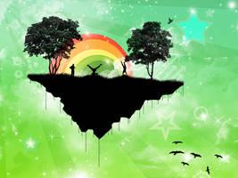 Island in the sky by velitchko