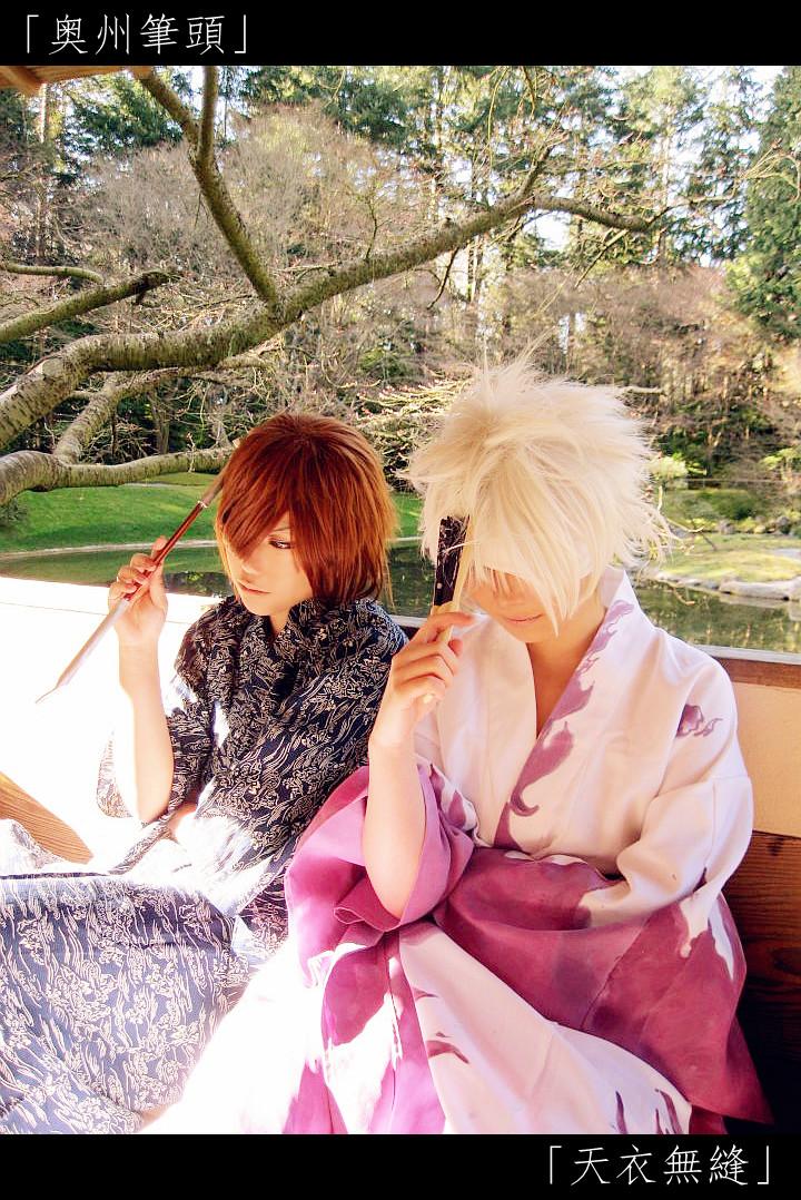Sengoku Basara - East/West Aniki by Mizukyo