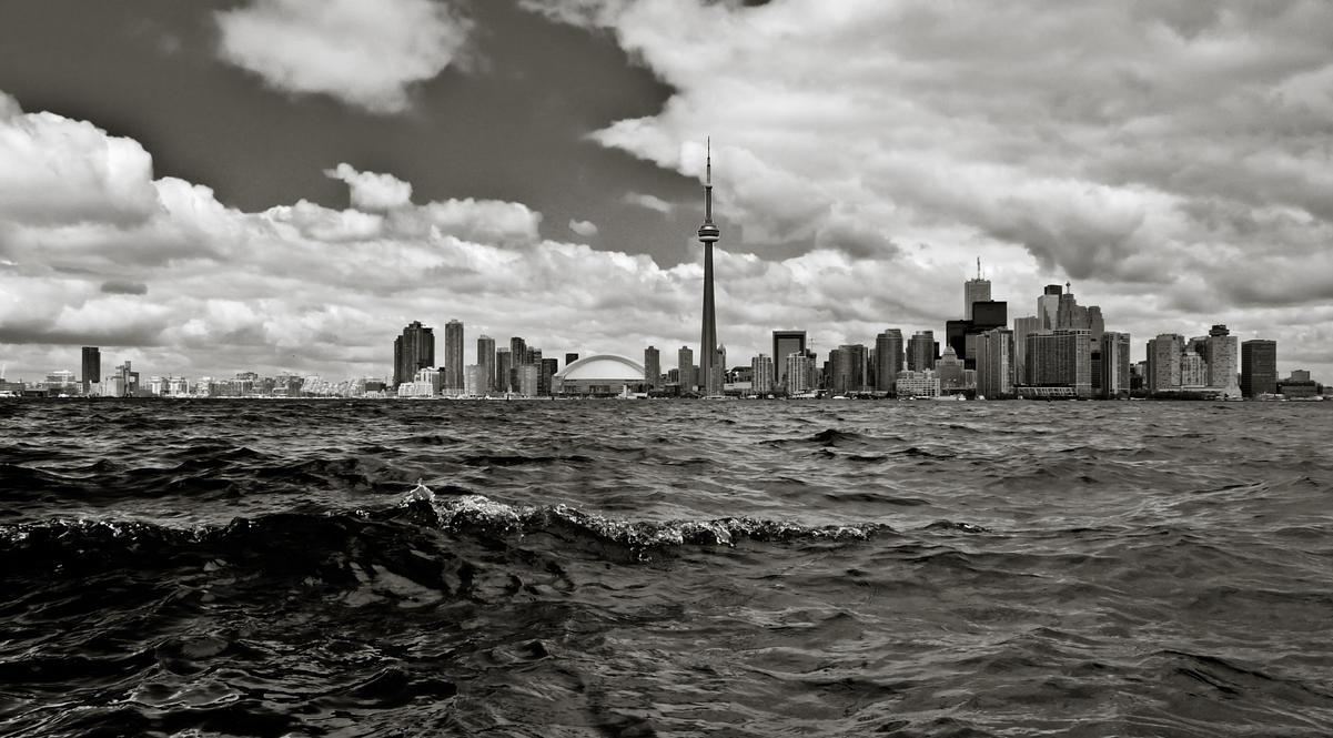 Stormy Toronto by Ben2004