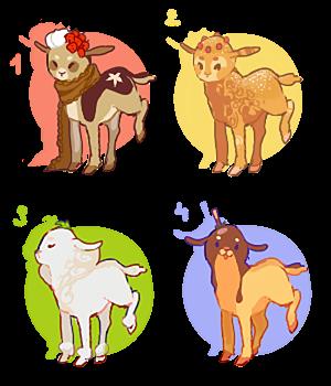 Sweet lambaby adoptables CLOSED by Sheepili