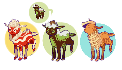 Sweet lambaby adoptables OPEN [1/3] by Sheepili
