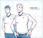 ST-Kirk Spock XI