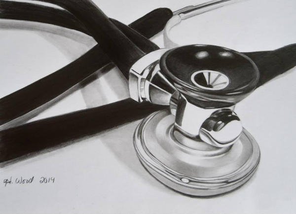 Stethoscope Still Life by heatherw290