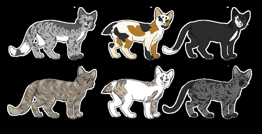Warrior Cat Adoptables CLOSED By FeatherySpirit On DeviantArt